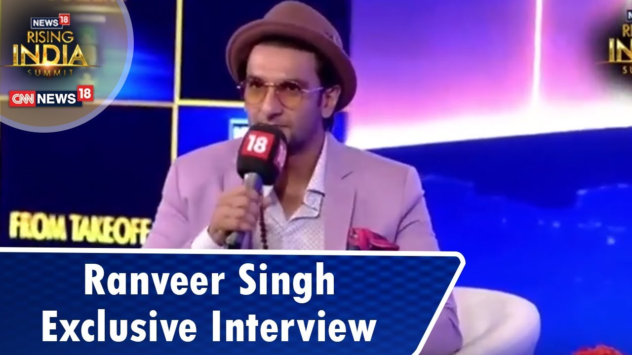 Ranveer Singh Exclusive Interview by Rajeev Masand | #News18RisingIndia Summit