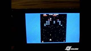 Namco Museum Battle Collection Sony PSP Gameplay - Galaga