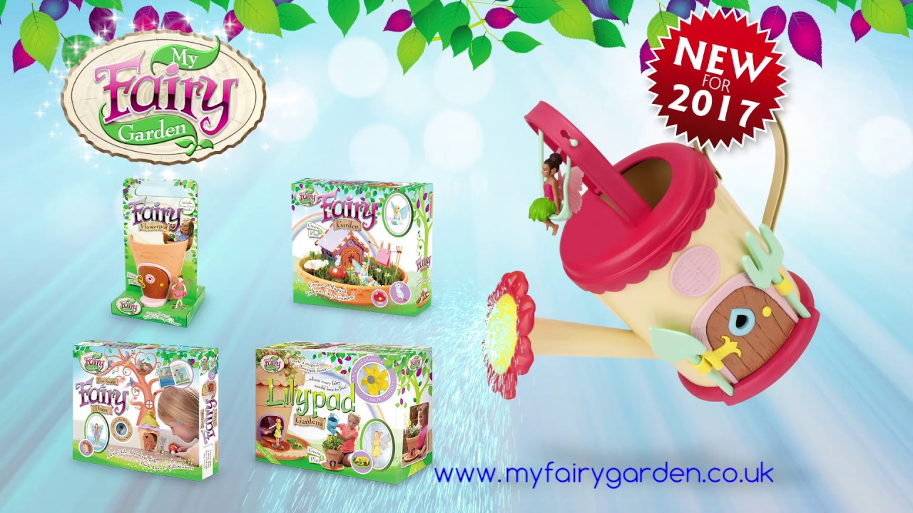 My Fairy Garden 2017 TV Ad With The New Fairy Watering Can!