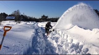 видео Снегоуборщики MTD (Германия/США)