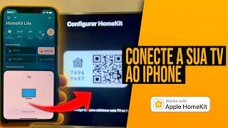 TV com automação Apple HomeKit e você não sabe - Confira e configure em poucos minutos