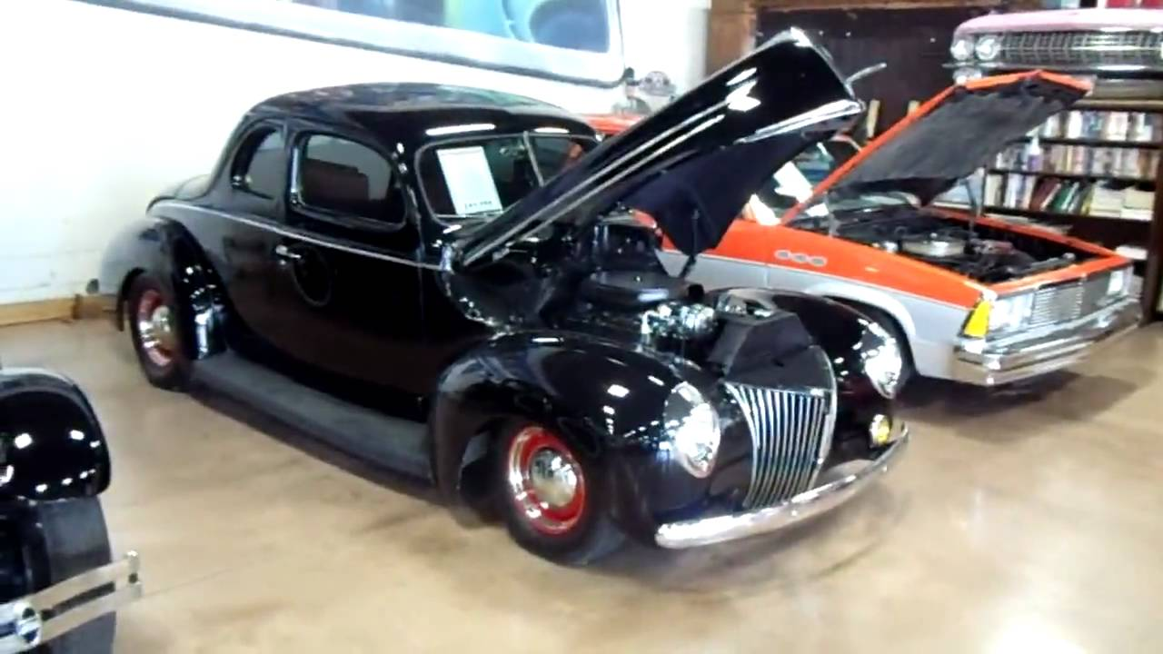 1940 Ford Coupe Street Rod with a 454 LS6 Big-block Chevy - YouTube