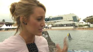 The Shallows: Blake Lively Cannes Red Carpet Movie Interview
