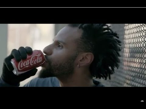 Coca-Cola - It's Beautiful - CharlieRED version: Cobaine Ivory featured in a Coca-Cola commercial!