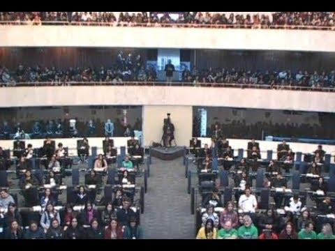 Acontece na Assembleia 17 de novembro de 2017 - Jovens na Assembleia Legislativa do Paraná