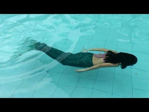 The Fin Fun Mermaid Tail ! Ước mơ Nàng Tiên Cá với Bảo Nhiên FULL ! WorldKids !