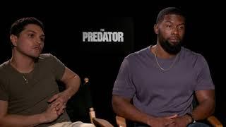 'Predator' cast reacts to cut scene news