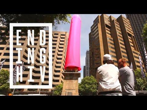Erecting Australia's Largest Condom In Sydney | Ending HIV