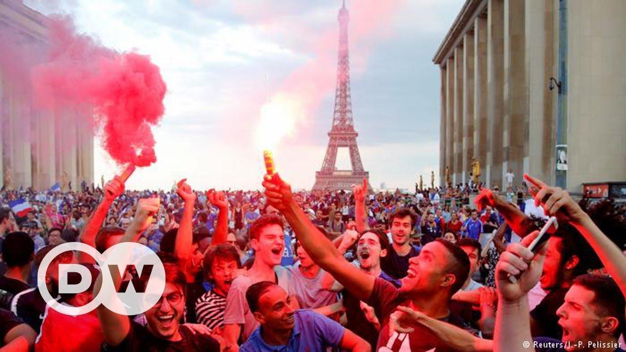 Paris'te şampiyonluk sevinci - DW Türkçe