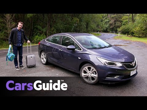 Holden Astra Sedan 2017 Review First Drive Video