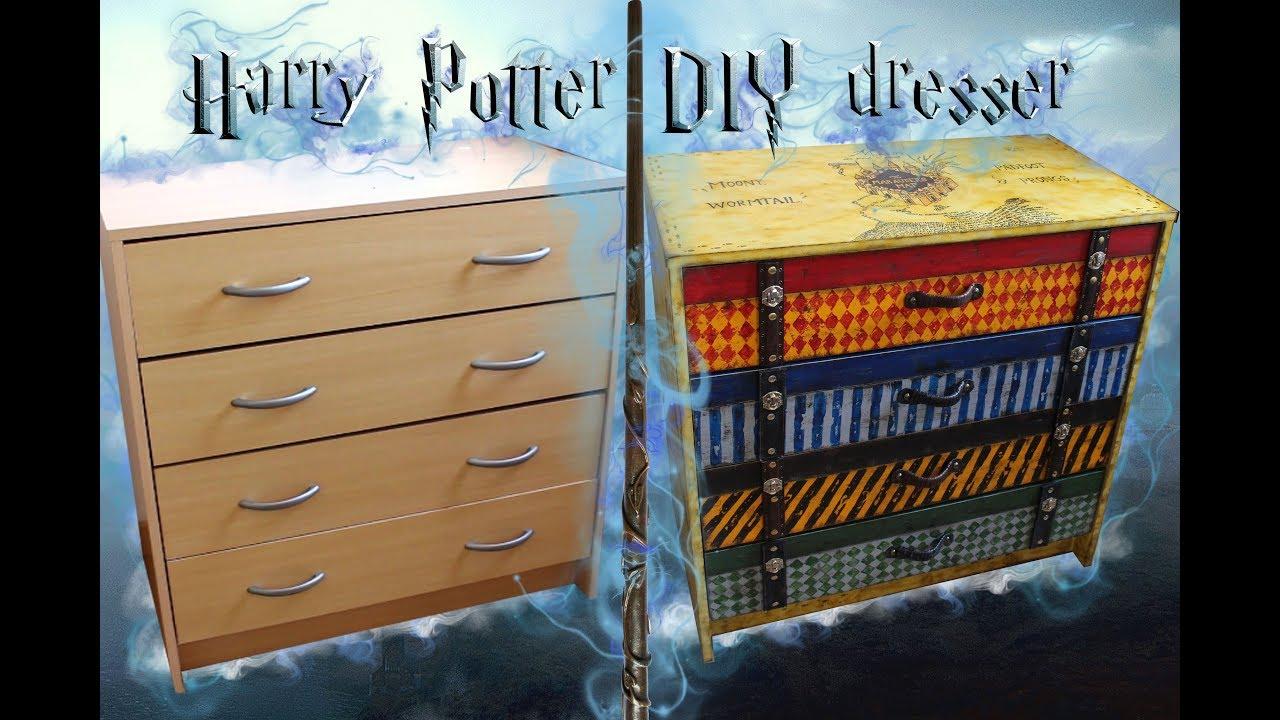 Harry Potter DIY dresser  YouTube