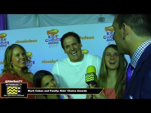 Mark Cuban talks about Shark Tank and Dallas Mavericks at 2017 Kids' Choice Awards!