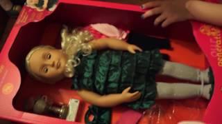 Кукла Алисы ! Американ ГЕРЛ аналог Что было в наборе с куклой