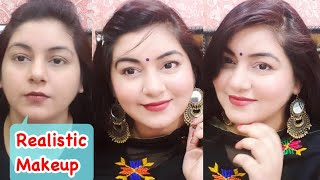 How to do Makeup in Hindi | Beginners Step by Step Tutorial for Party, Wedding Guest | JSuper Kaur