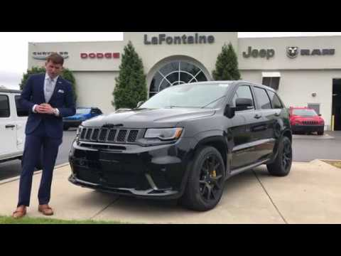 2018 Jeep Grand Cherokee Trackhawk Performance Walk Around
