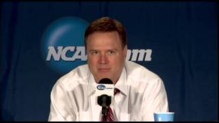 Bill Self offers Andrew Wiggins some advice for future