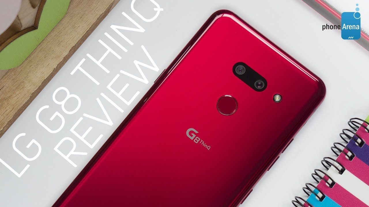 LG G8 ThinQ Setup and First Look