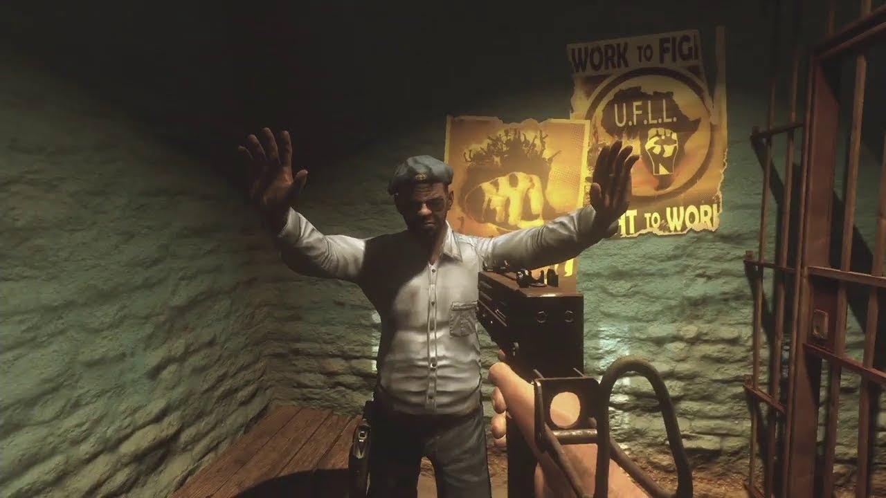 Far Cry 2 PC - O Início de Gameplay Parte 1 [Ao vivo PT-BR]