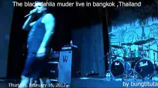 The Black Dahlia Murder @ Aua in Bankok, Thailand February 16, at ...