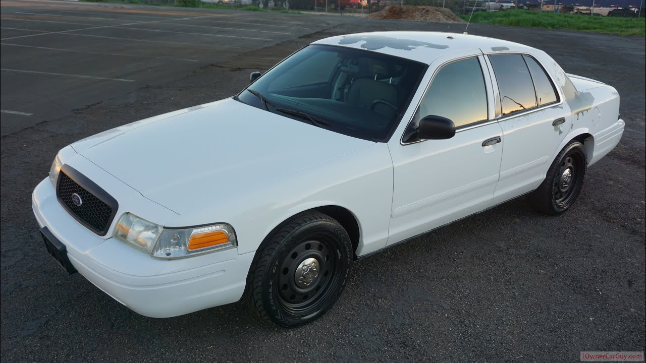 2008 ford crown victoria p 71 police car interceptor preview video youtube