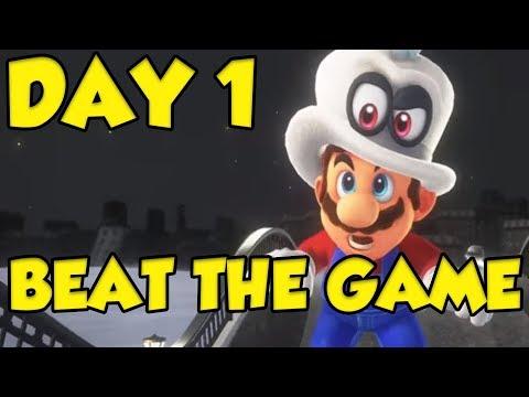 Super Mario Odyssey - BLIND RUN UNDER 7 HOURS!