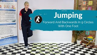 Forward And Backwards In 9 Circles - With One Foot