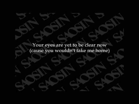 Saosin - I Never Wanted To (with Lyrics)