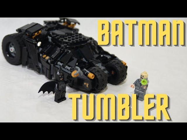 Batmobile Tumbler LEGO Batman 76239 Speed Build - Scarecrow Showdown