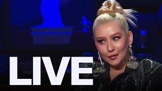 Christina Aguilera On Maroon 5 Super Bowl Rumours | ET Canada LIVE