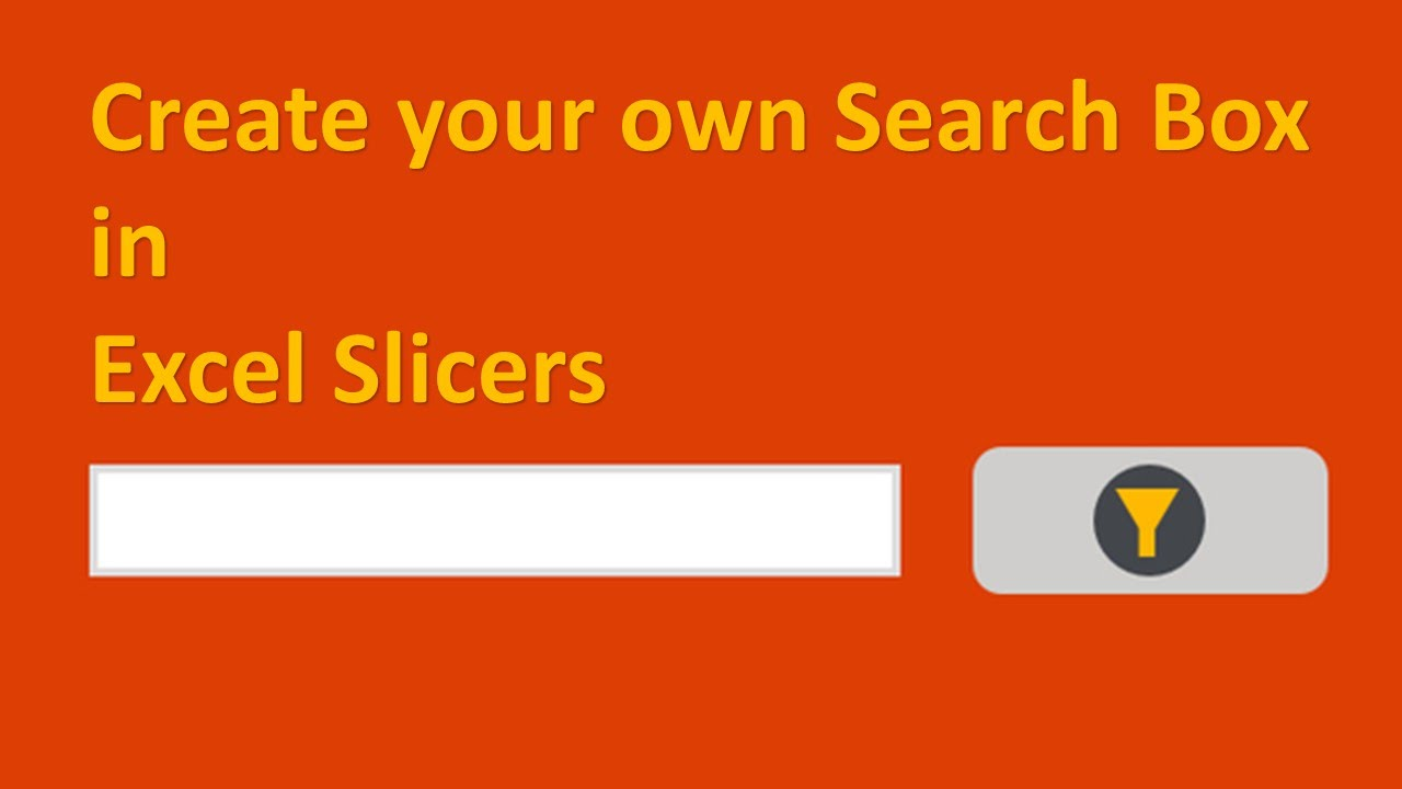 Slicer In Excel 2013 Add Search Button And Multiple