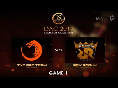 TNC Pro Team vs Rex Regum  | Dota 2 Asia Championship | Group Stage | Best of 3 | Game 1