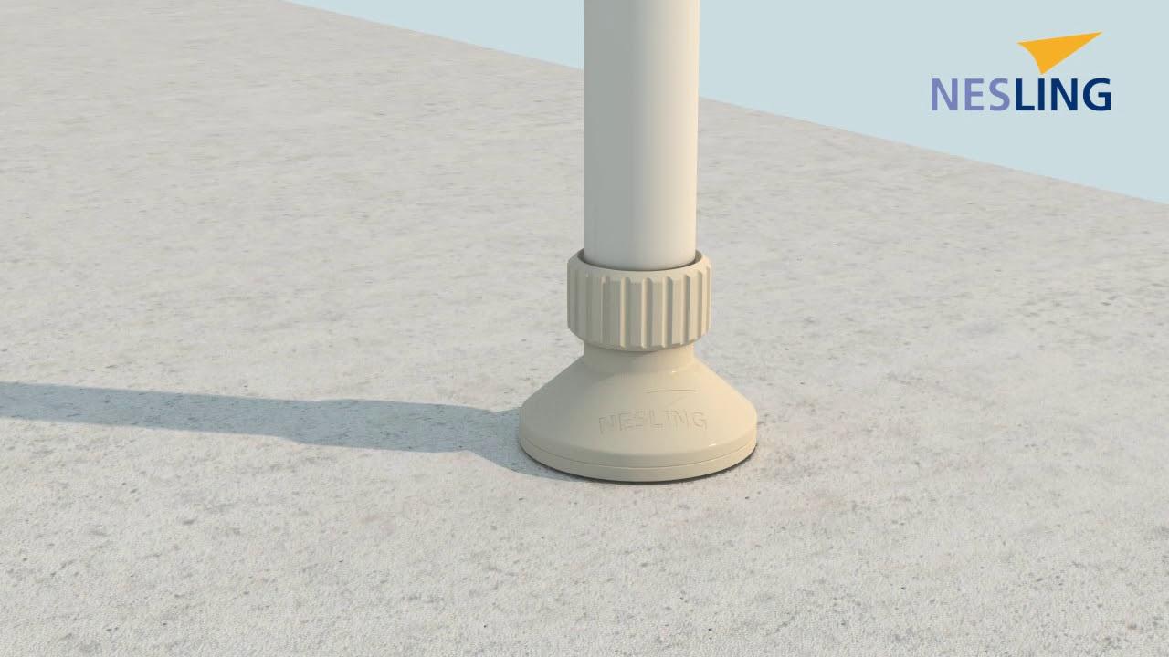 Comment Fixer Une Tonnelle Sans Percer structure store balcon sans perçage