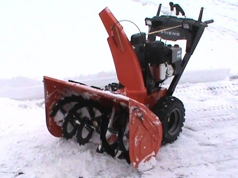 Ariens Hydro Pro 36 in action