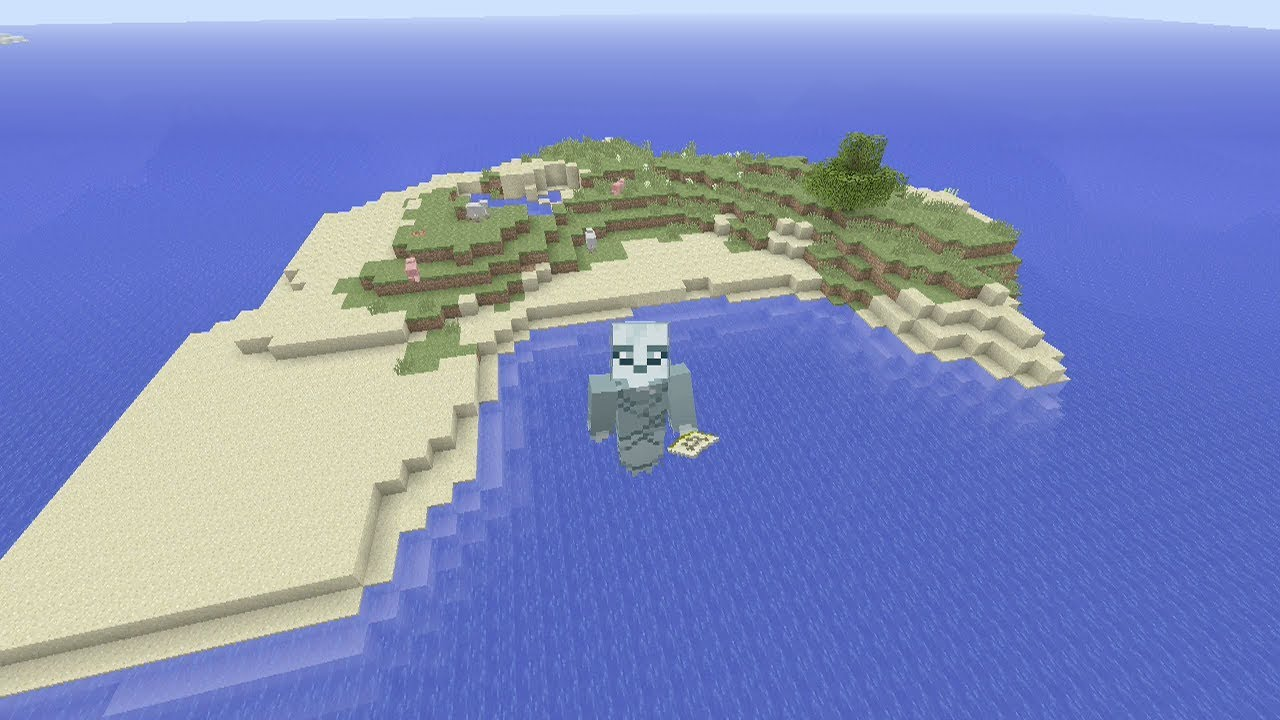 Minecraft Xbox One / PS4 Seed: The Best Survival Island Seed!