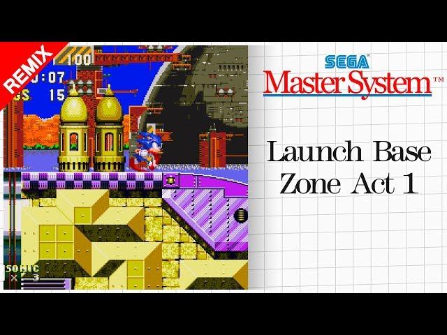 Flipboard: Sonic 3 - Launch Base Zone Act 1 (Sega Master System Remix)
