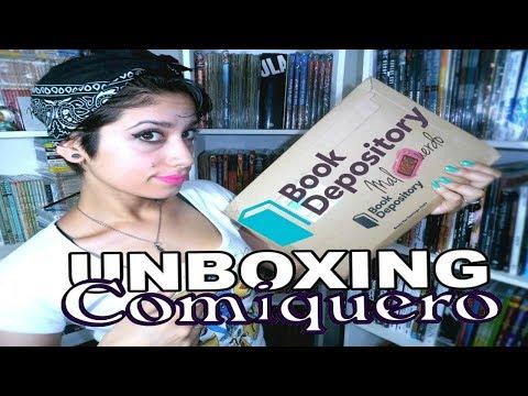 Mi primera experiencia en Book Depository | + UNBOXING CÓMIC