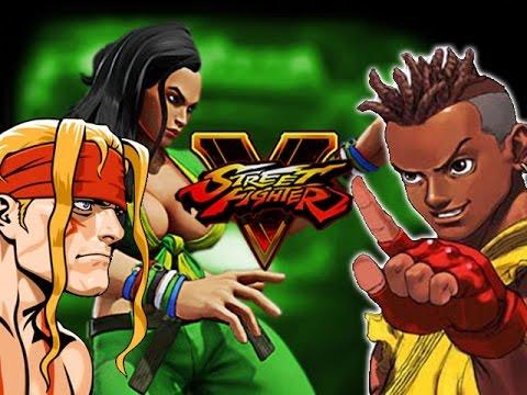 ALEX & SEAN TEASE: Street Fighter 5 New Info