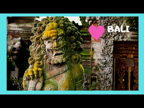 EXPLORING BALI: Spectacular HINDU TEMPLE In UBUD (Indonesia)