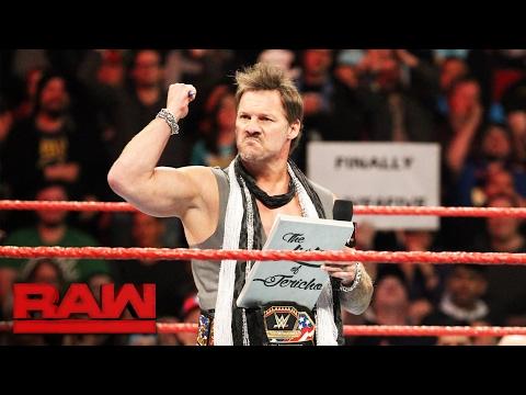 "Chris Jericho puts 2017 Super Bowl Champion Tom Brady on ""The List"": Raw, Feb. 6, 2017"