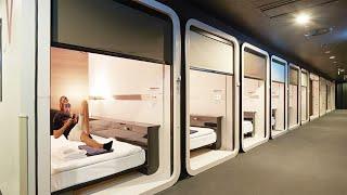 Les nouveaux capsule hotels