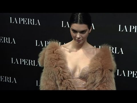 La Perla fetes 'street' bras at Milan fashion week