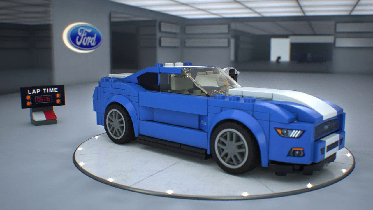 lego speed champions ford mustang gt 75871 www. Black Bedroom Furniture Sets. Home Design Ideas
