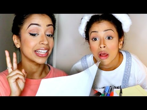 TEACHING MY YOUNGER SELF. - Liza Koshy