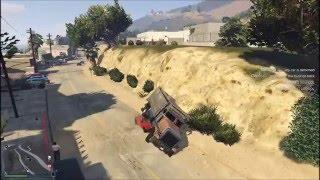 GTA V online (PC) - Dump Truck Glitch