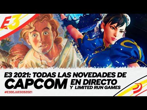 E3 2021: CONFERENCIAS de CAPCOM en DIRECTO y viaje al pasado con KONAMI 2010