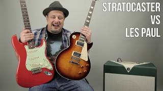 Les Paul vs Stratocaster - Which Guitar Do You lIke More? Marty's Thursday Gear