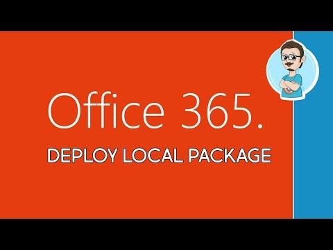 Microsoft | Deploy Office 365 Locally!