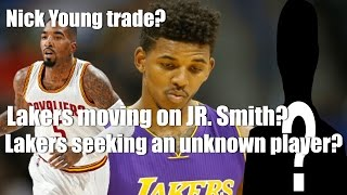 laker s rumors young trade jr smith move and looking to get an unknown player