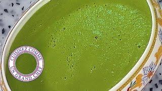 Crème De Haricots Verts Aux Coquillages