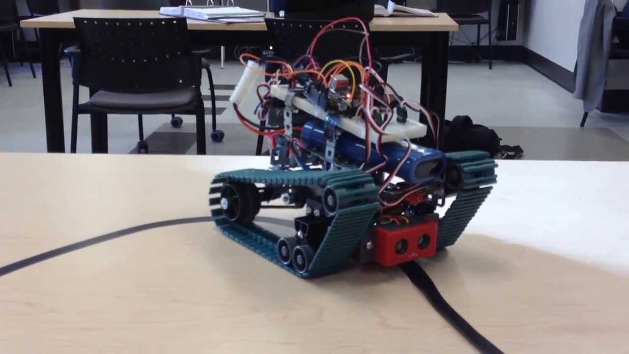 Arduino Vex Line Following Robot Youtube